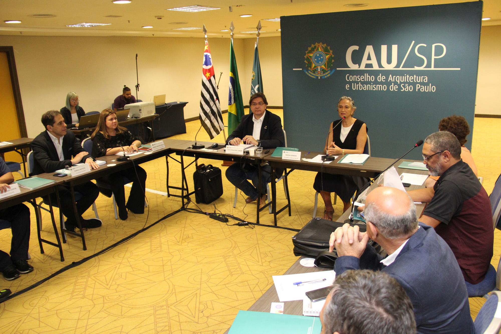 Presidentes dos CAU
