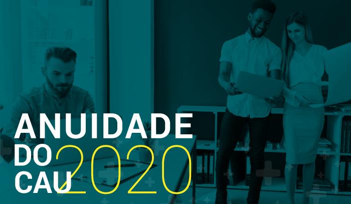 Anuidade 2020 do CAU